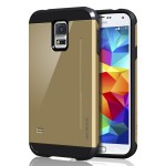 OBLIQ Skyline Pro for GALAXY S5 (Champagne Gold)