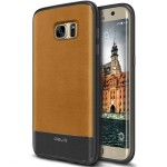 OBLIQ Premium Flex Pro for GALAXY S7 Edge (Brown)