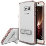 OBLIQ Naked Shield S for GALAXY S7 Edge (Rose Gold)