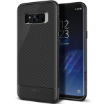 OBLIQ Premium Flex Pro for Galaxy S8 (Carbon)