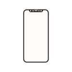 Corallo NU SOFT EDGE GLASS (ブルーライトカット) 2枚入り for iPhone12 mini (Black)