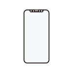 Corallo NU SOFT EDGE GLASS 2枚入り for iPhone12 Pro / iPhone12 (Black)