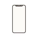 Corallo NU SOFT EDGE GLASS (ブルーライトカット) 2枚入り for iPhone12 Pro / iPhone12 (Black)
