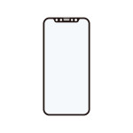 Corallo NU SOFT EDGE GLASS (アンチグレア) 2枚入り for iPhone12 Pro / iPhone12 (Black)