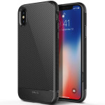 OBLIQ Flex Pro for iPhoneX (Carbon)