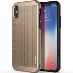 OBLIQ Slim Meta for iPhoneX (Champagne Gold)