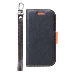 Corallo NU for らくらくスマートフォン me F-01L (Black+Orange)