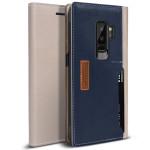 OBLIQ K3 Wallet for GALAXY S9 Plus (Mud Gray Navy)