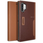 OBLIQ K3 Wallet 2018 for Galaxy Note 10 Plus (Brown/Burgundy)