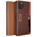 OBLIQ K3 Wallet 2019 for iPhone11 Pro Max (Brown/Burgundy)