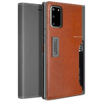 OBLIQ K3 Wallet 2019 for Galaxy S20 (Black Gray/Brown)