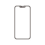 Corallo AG EDGE GLASS for iPhone13 Pro / iPhone13 (Black)
