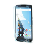 Acase view BL (1P) for Nexus6 (Clear)
