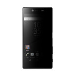 Acase view PV (1P) for Xperia Z5 Premium (Black)