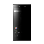 Acase view PV (1P) for Xperia Z5 (Black)