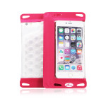 Acase Waterproof Sleeve for Smart Phone for 5.5inc スマートフォン (Pink)