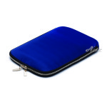 Acase Zipper Bag for 10inc タブレット (ネイビー)