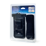 Acase Waterproof AB XL for 5inc スマートフォン (Black)