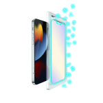 Torrii BODYGLASS Blue Light (Anti-bacterial Coating) for iPhone13 Pro / iPhone13 (Clear)