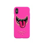 SwitchEasy Monsters for iPhoneXs Max (Pink)