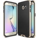 OBLIQ Dual Poly Bumper for GALAXY S6 Edge (ゴールド)