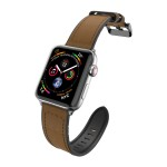 Raptic Hybrid Leather Band for Apple Watch 38/40mm (Brown)