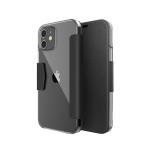 RAPTIC Engage Folio for iPhone12 mini (Black)