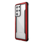 Raptic Shield for Galaxy S21 Ultra (Red)