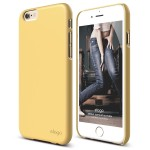 elago S6 SLIM FIT 2 for iPhone6/6s (Creamy Yellow)