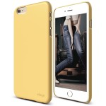 elago S6P SLIM FIT 2 for iPhone6 Plus/6s Plus (Creamy Yellow)