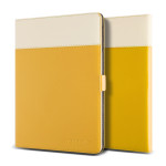 VERUS Crayon Two-tone diary for GALAXY Tab S 10.5 (Mustard_Beige)