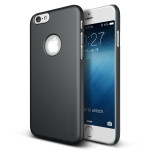 VERUS Super Slim Hard for iPhone6 (Charcoal Black)