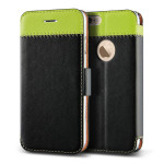VERUS Vivid Klop Diary for iPhone6 (Black/Green)