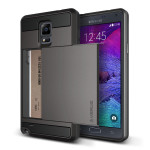 VERUS Damda Slide for GALAXY Note 4 (Dark Silver)