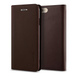 VERUS Genuine leather diary case for iPhone6 Plus (Wine)