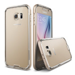 VERUS IRON Bumper for GALAXY S6 (Clear/Gold)