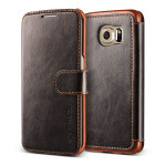 VERUS Dandy Layered Leather for GALAXY S6 Edge (Dark Brown+Brown)