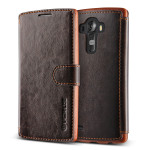 VERUS Dandy Layered Leather for LG G4 (Dark Brown+Brown)
