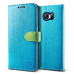 Lific Vivid Diary for GALAXY S6 (Blue_Green)