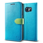 Lific Vivid Diary for GALAXY S6 Edge (Blue_Green)