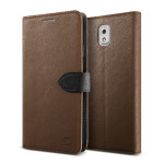 Lific Saffiano Diary for GALAXY Note 3 (Brown+Black)