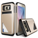 Lific Mighty Card Defense for GALAXY S6 (Shine Gold)