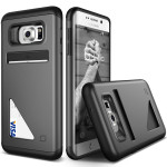Lific Mighty Card Defense for Galaxy S6 Edge Plus (Dark Silver)