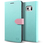 Lific Saffiano Diary for GALAXY Note 5 (Mint_Pink)