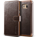 VERUS Dandy Layered Leather for Galaxy Note 5 (Dark Brown+Brown)