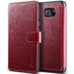 VERUS Dandy Layered Leather for GALAXY Note 5 (Wine_Black)