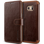VERUS Dandy Layered Leather for Galaxy S6 Edge Plus (Dark Brown+Brown)