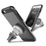 VERUS Verge Magnetic Flat for iPhone6/6s (Steel Silver)