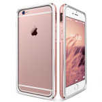 VERUS IRON Bumper for iPhone6/6s (White_Rose Gold)