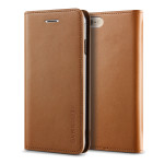 VRS DESIGN Genuine leather diary case for iPhone6/6s (Brown)